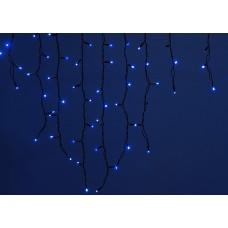 Бахрома световая [3x0.7 м] Uniel ULD-B3010 ULD-B3010-200/TBK BLUE IP67